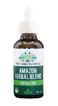 Amazon Herbal Blend Oil with 400mg CBD